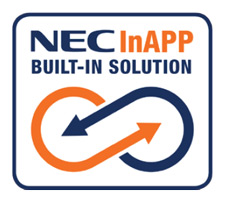 Hospitality Solutions - NEC InAPP Built-in Solution Logo