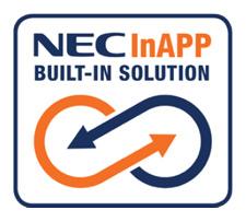 Hospitality Solutions - NEC InAPP Built-in Solution Logo